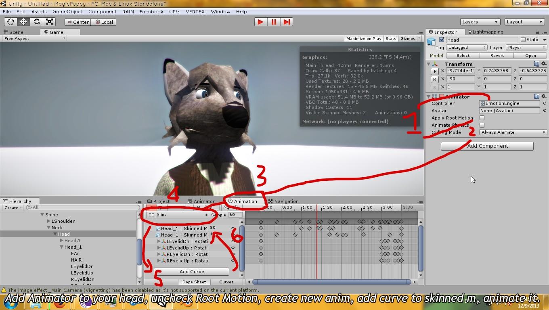 Tutorial] Unity Facial Animation / Blendshape / Morph