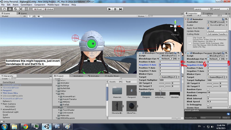 Unity] Blendshape Eye Controller (Look At, Random Eyes, and