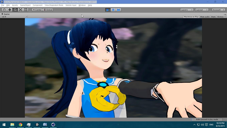 Anime Characters Unity : Mememe dance cover anime unity experiment part i