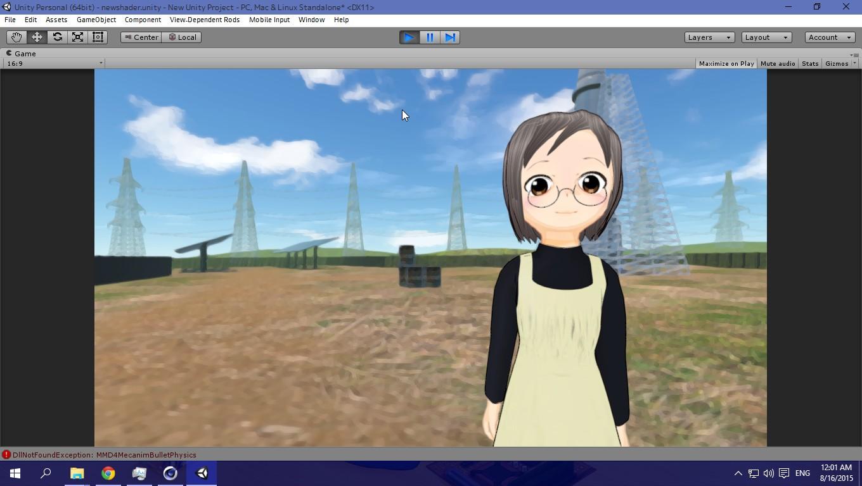 MEMEME Dance Cover | Anime Unity Experiment Part I | imagination XD