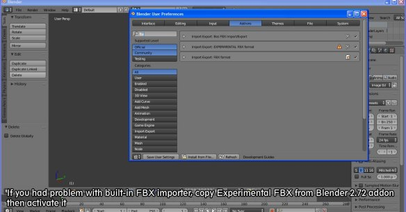 C4D, Maya, Blender] Convert FBX to MMD | imagination XD